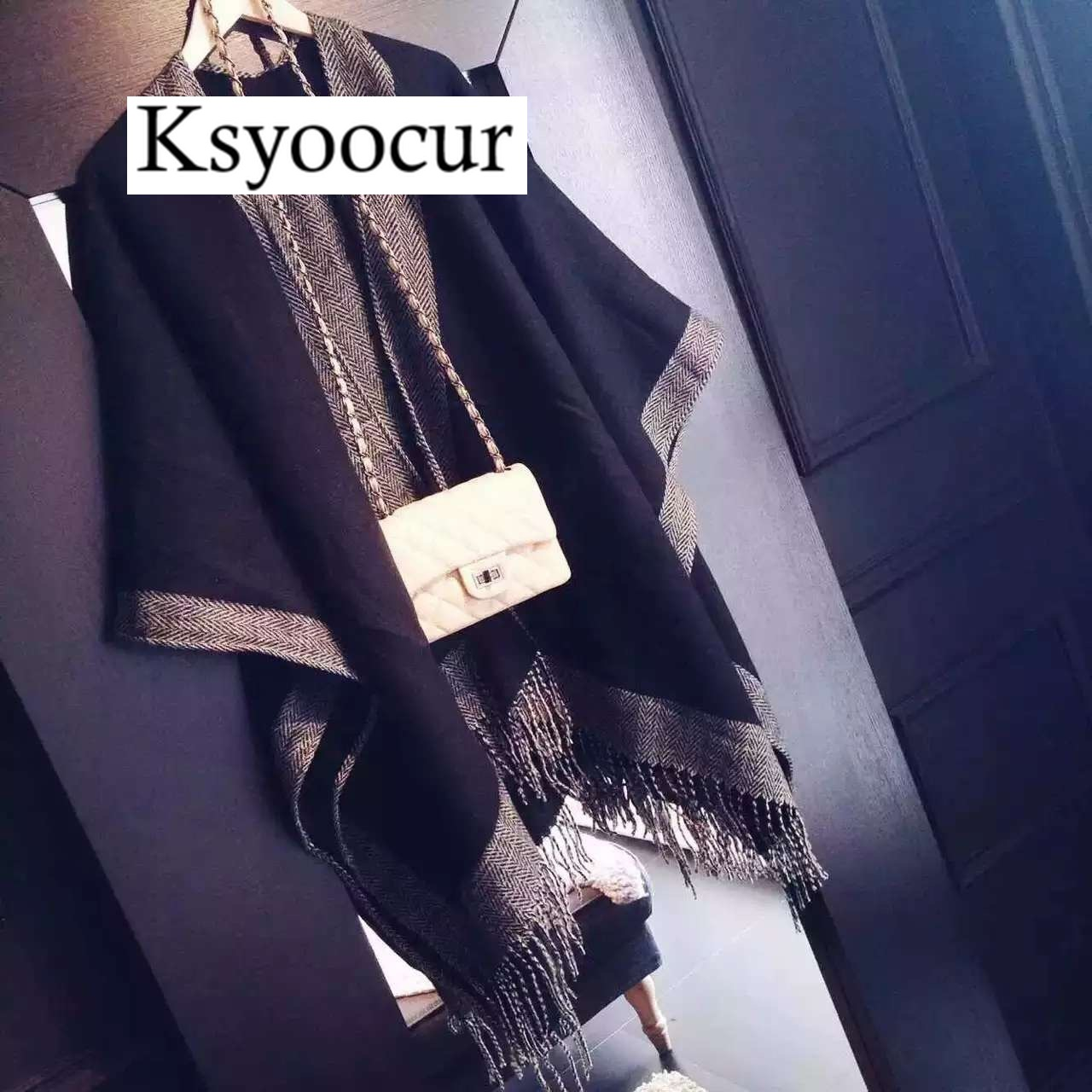 Size 190*65cm, 2020 New Autumn/Winter Long Section Cashmere Fashion Scarf Women Warm Shawls And Scarves Brand Ksyoocur E10