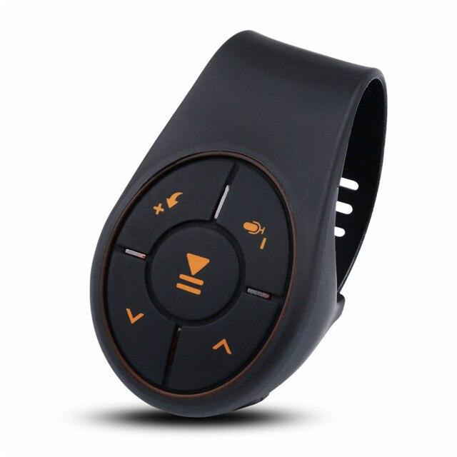 Bluetooth 4,0 Fernbedienung Media Taste Musik Player Controller Auto Kit Für Auto Lenkrad Bike Für IOS Für Android