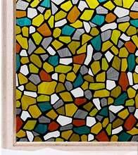Наклейки окна с цветным камнем и декоративная пленка для стекла