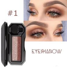 Kosmetyki połyskujące dwukolorowe leniwe oko paleta do makijażu cieni wodoodporny pędzel do cieni do powiek paleta cieni do powiek paleta cieni do powiek tanie tanio CN (pochodzenie) Jedna jednostka DŁUGOTRWAŁY łatwe do noszenia Natural Factors BRIGHTEN Pełny rozmiar Dwa kolory CHINA