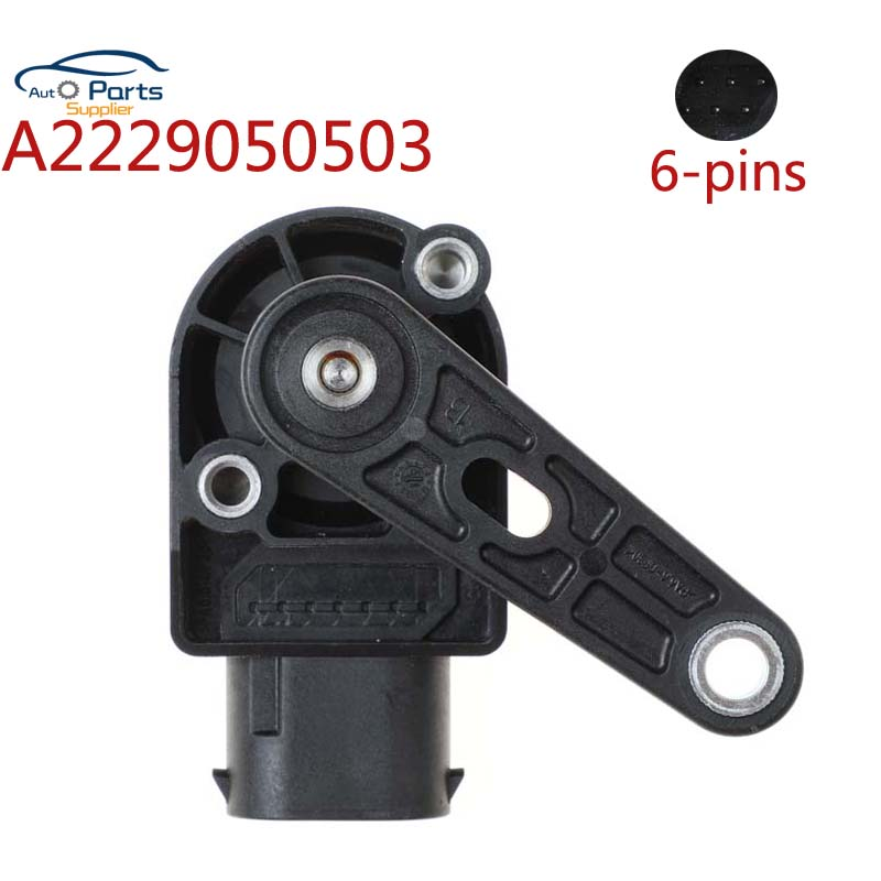 A2229050503 Rear Headlight Light Lamp Level Sensor For Mercedes Benz W222 S300 S350 S400 S500 S320 S600 A2139051902 2229050503 image
