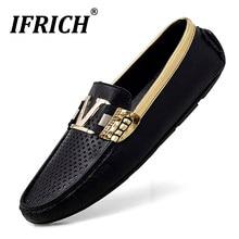 Nouvelle tendance 2020 hommes chaussures décontractées en caoutchouc bas mocassins mocassins hommes marque de luxe hommes Plus tailles chaussures anti-dérapant entraînement hommes chaussures