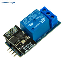 WiFi IoT ESP01 ESP8266 Contact Relay module for AC and DC switching power 10A. For smart home and DIY projects