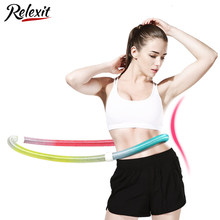 Spring Sports Hoops Waist Trainer Hoola Hoop Home Portable Fitness Gym Workout Equipments Slimming Lose Weight Resistance Bands