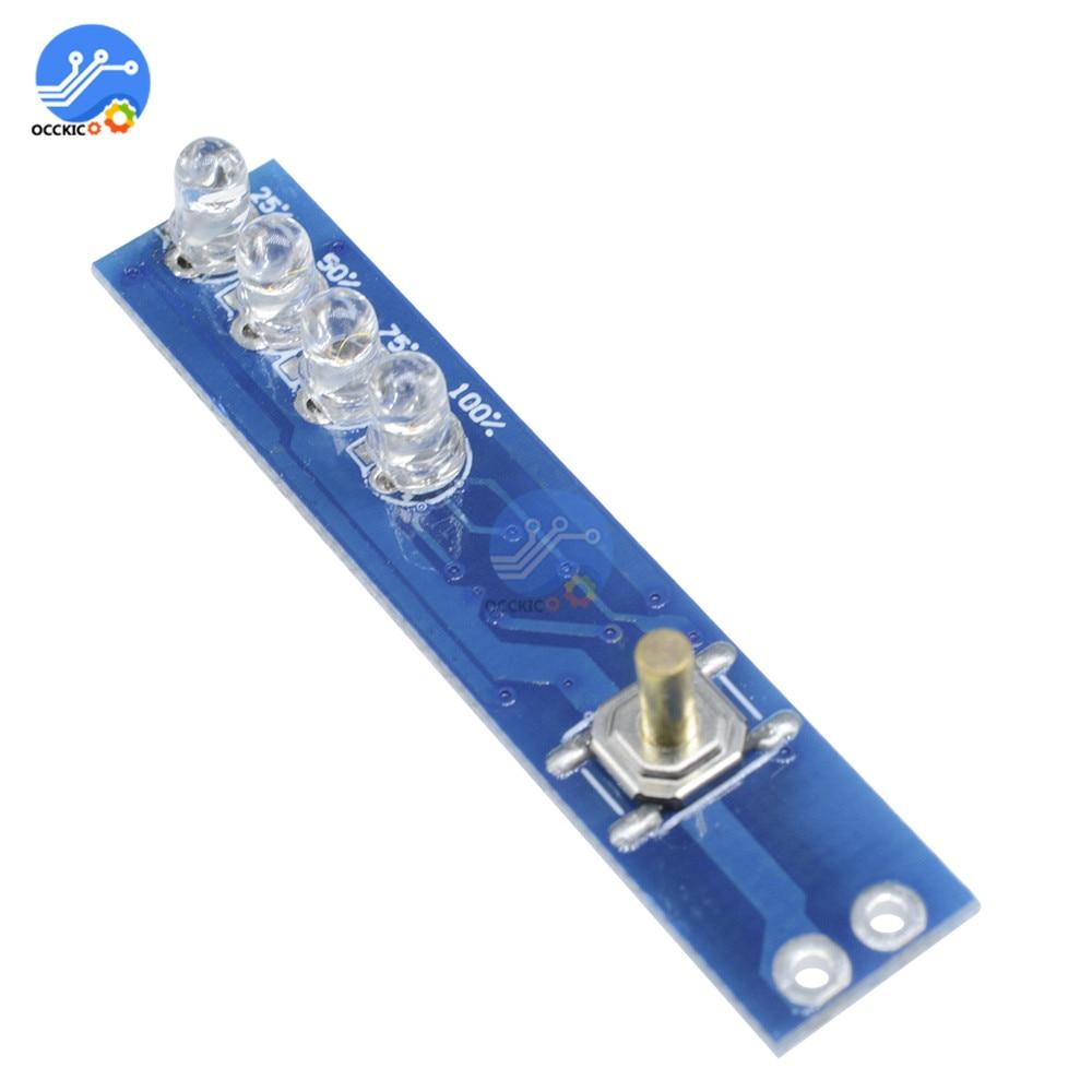 tipo 3 11.1-12.6 V Misuratore livello di carica della batteria a litio