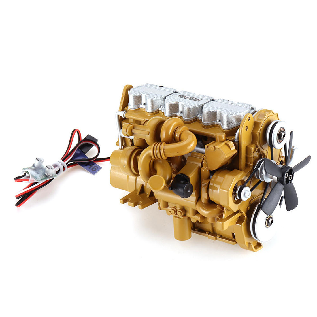 Zinc Alloy Diesel Engine For HG-P602 RC Car Model