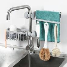 Escurridor de esponja para cocina y baño, estante de secado para fregadero, portaesponjas con ventosa, soporte de almacenamiento para ahorro de espacio
