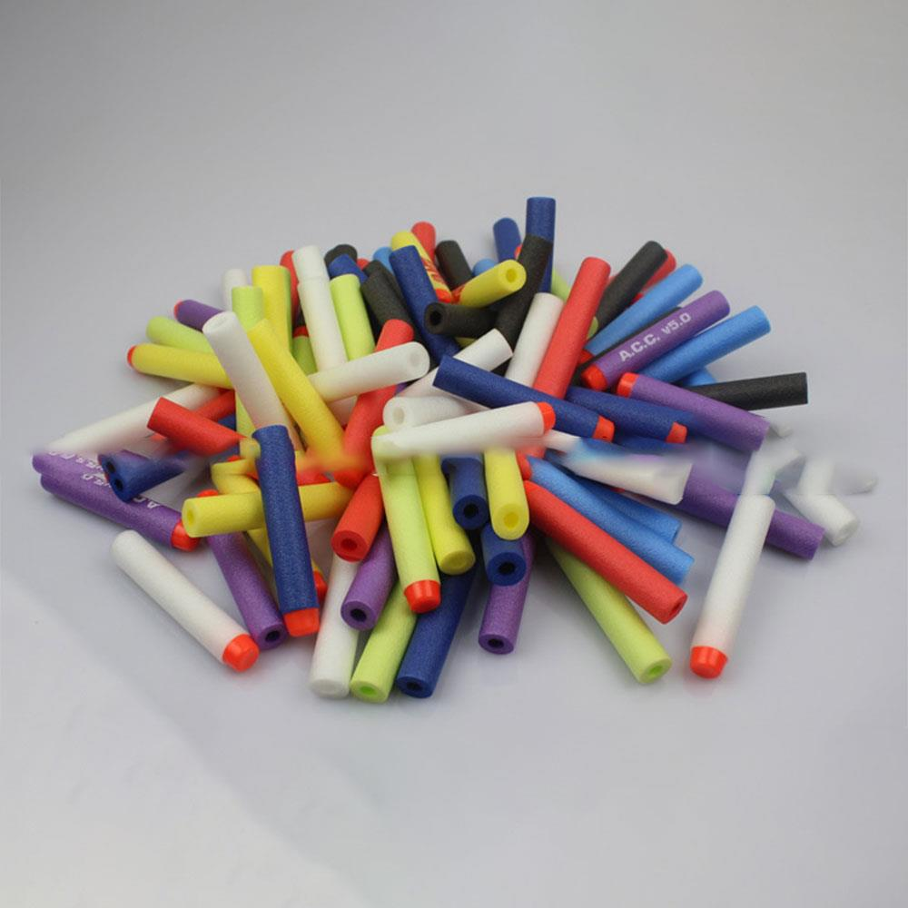 War Game 10pcs Soft Bullet Bullets EVA Practical 14*7.5*1.2cm Kids Darts Durable Outdoor Shooting Supplies Sniper 6 Color