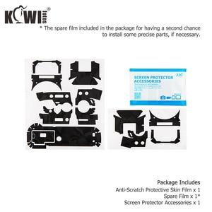 Image 5 - KIWI Anti Scratch กล้องฝาครอบผิวสำหรับ Fujifilm X T30 Fuji XT30 กล้องฟิล์มสไลด์ 3M สติกเกอร์เงาสีดำ