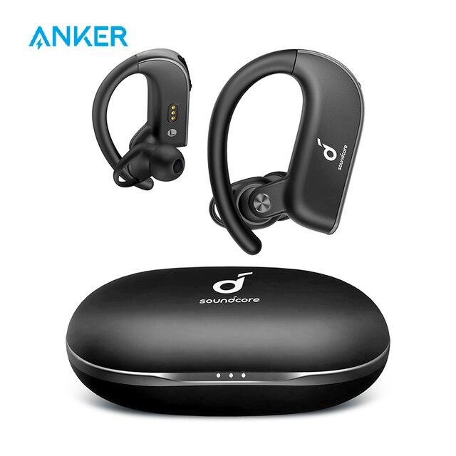 Anker Soundcore Spirit X2, True Wireless Earbuds, Body-Moving Bass, IP68 Sweatproof, 36H Playtime, CVC 8.0 Clear Calls 1