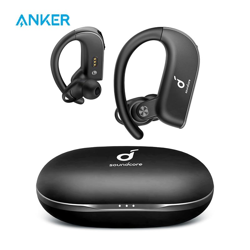 Anker Soundcore Spirit X2 True Wireless Earbuds Body-Moving Bass IP68 Sweatproof 36H Playtime CVC 8 0 Clear Calls