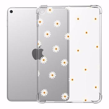 Чехол для iPad 10,2 2020 iPad Air 4 Дейзи комплект чехол s Прозрачный Силикон усиленные углы мягкие чехлы для iPad Mini 1 2 3 4 5