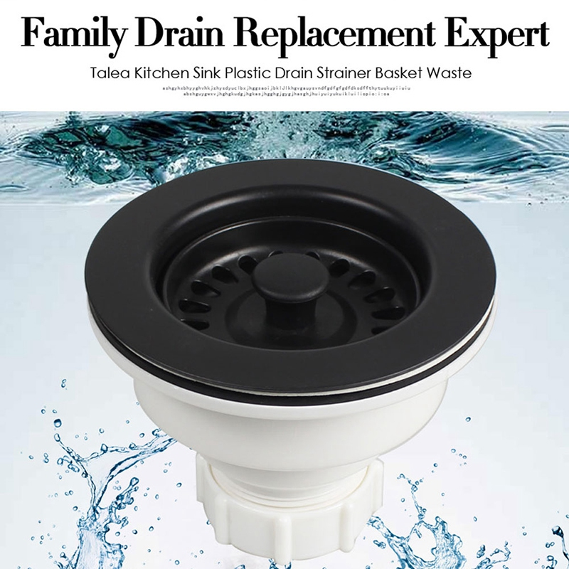 Sink Waste Kit Bathroom Plug Trap Water Drain Filter Kitchen Sink Accessories Deodorizing Kitchen Sink Basket Drain Set