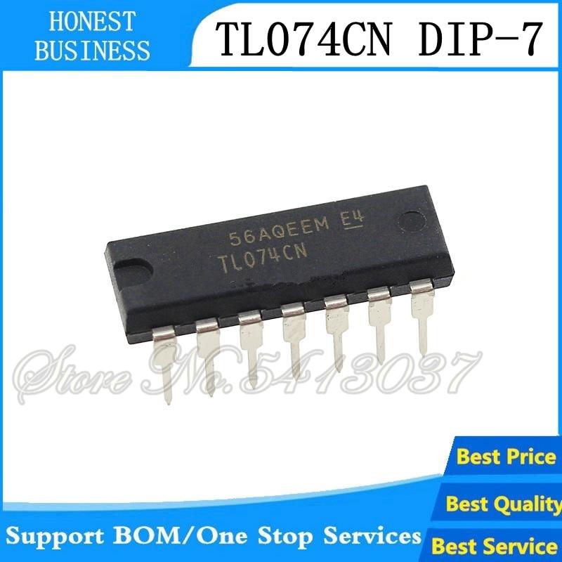 20PCS TL074CN DIP14 TL074 DIP
