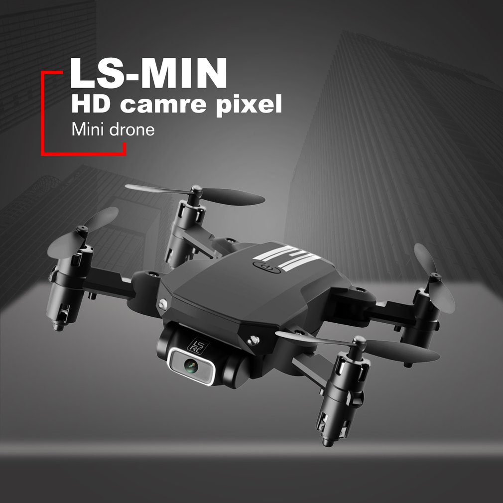 New Mini Drone 4K Pixel Dual Camera WiFi FPV Air Pressure Height Maintenance Portable Foldable Quadrotor dron Children Toy