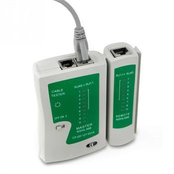 цена на Professional Network Cable Tester RJ45 RJ11 RJ12 CAT5 UTP LAN Cable Tester Detector Remote Test Tools Networking