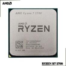 AMD Ryzen R7 2700 3.2 GHz 8 Core Sinteen ด้าย16M 65W CPUโปรเซสเซอร์YD2700BBM88AFซ็อกเก็ตAM4