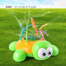Hot Selling Outdoor Water Spray Sprinkler Turtle Toy with Wiggle Tubes Splashing Fun for Kids Summer LBV