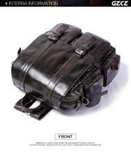 2020 bolso de cuero de la capa de piel de vaca bolso de la cubierta de la mochila de gran capacidad para restaurar formas antiguas