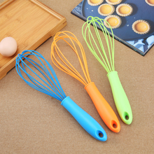 Mixer Hand-Whisk Butter Kitchen-Tools Manual-Egg-Beater Blende Silicone 12inch Batidor-De-Huevos