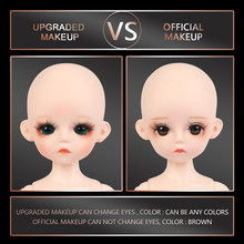 30CM Nude Body BJD Doll 1/6 BJD 25 Parts Can Be Removed Ball Jointed Body Without Outfits Girls Dress Up Makeup Dolls