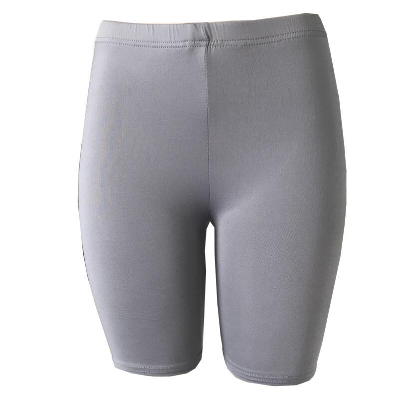 US Stock Women Girls Student High Waist Denim Stretch Biker Shorts Fitness Sports Beach Jeans Hot Short Casual
