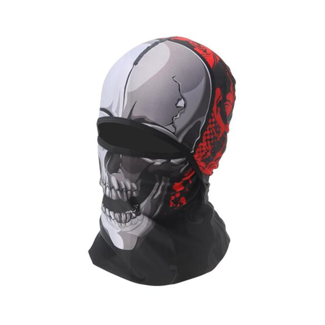 Best Quality Face Mask Motorcycl Soft Breathable Headgear Face Shield Motorcycle Mask Sun-protection Dust Protection 3