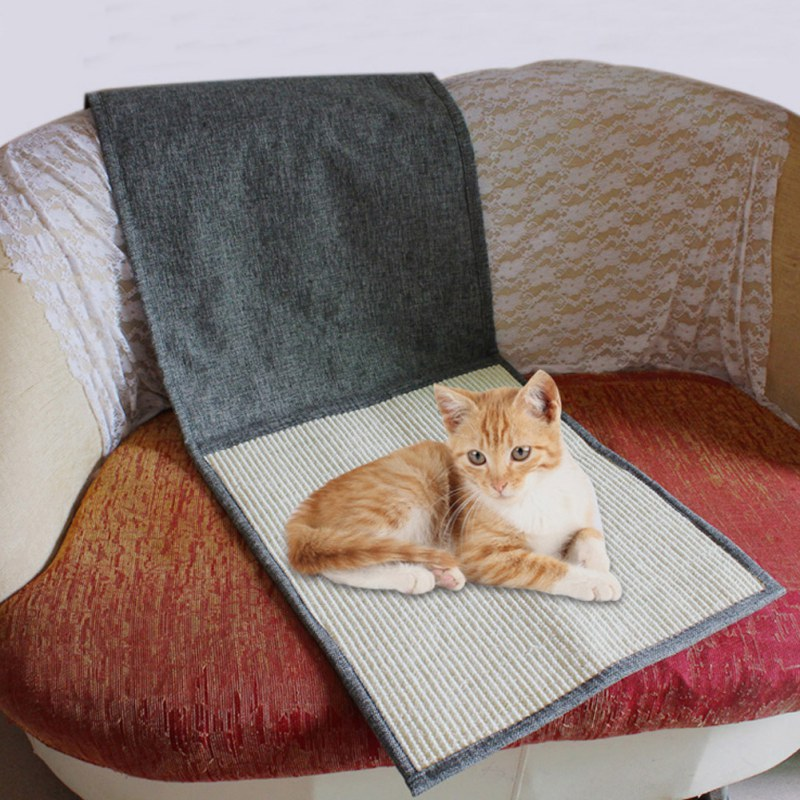Cats Scratching Board Good Sleeping Mat For Pad Scratch Toy Furniture Mesh Pet Sofa Protection Ht