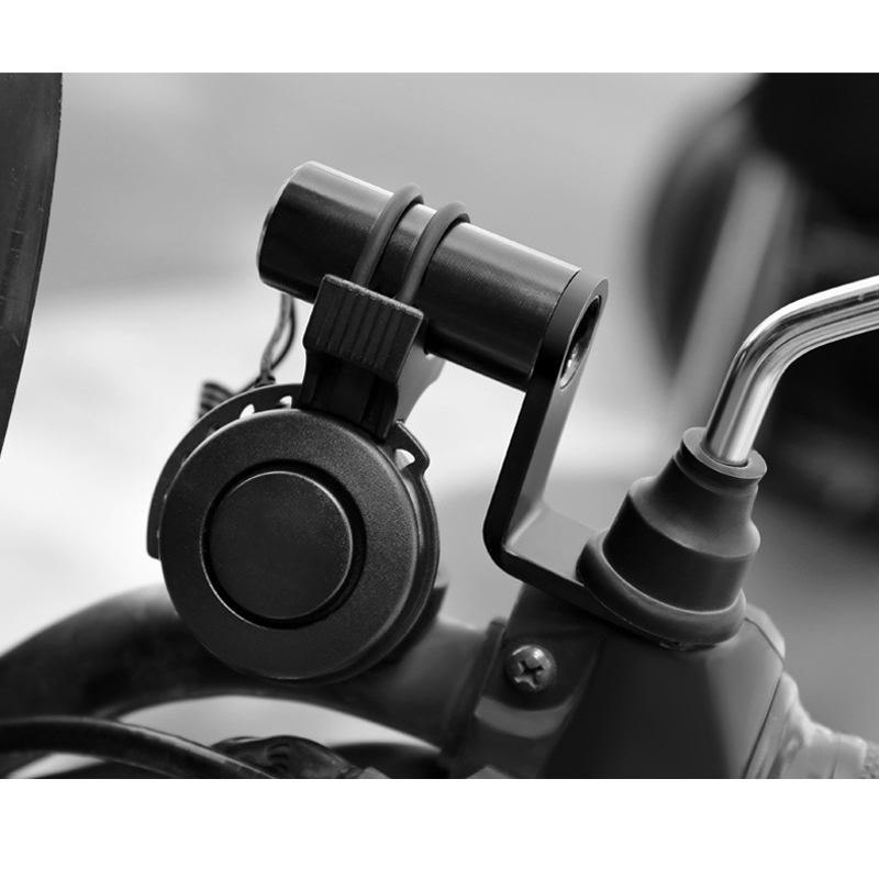 Newly Aluminum Alloy Motorcycle Rearview Mirror Mount Handlebar Rearview Mirror Adapter Mobile Phone Bracket Expansion Bracket S