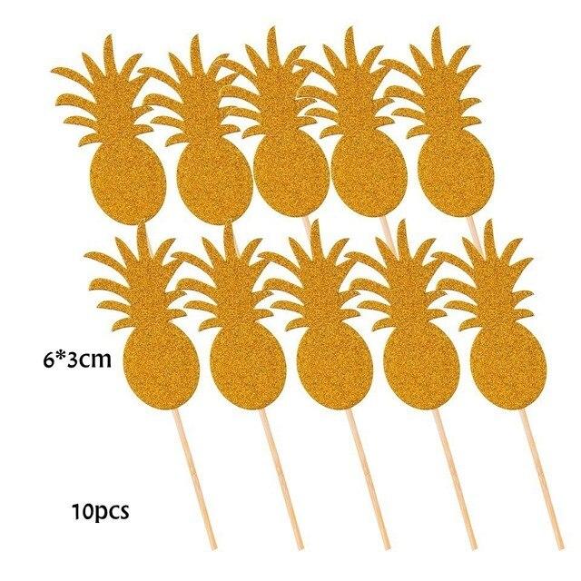 10pcs Pineapple