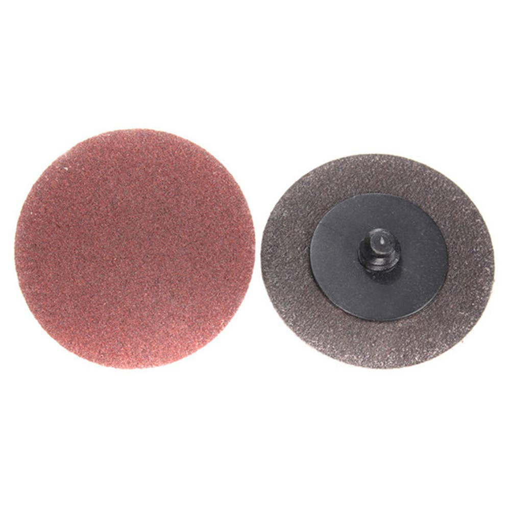 25pcs 3 Inch 120 Grit Sanding Discs Abrasive Roll Lock Sandpaper Sanding Discs For Polishing Cleaning Tools