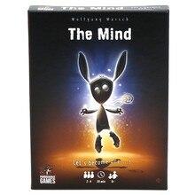 The Mind-Juego de cartas para fiesta, Puzzle, juego de mesa, experiencia de equipo, juego interactivo Q84C