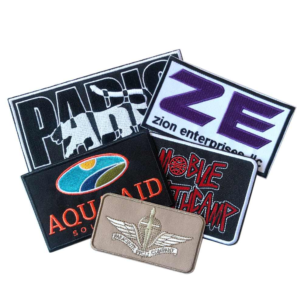 Create High Quality Stick-on Custom Embroidery Patches For Garment