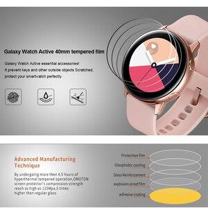 Image 3 - 3 stück Weiche Hydrogel Film für Samsung Galaxy Uhr Aktive 1 2 40m 44mm Schutz Film Uhr Screen protector auf Aktive 2 1