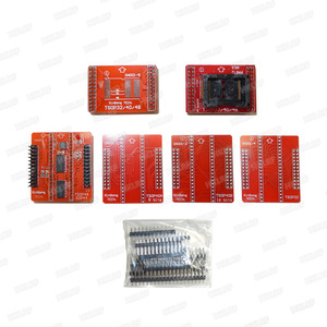 Image 5 - XGECU Original New TL866II PLUS Universal  Programmer+14 Adapters+TSOP32 TSOP48 Adapter +Test Clip TL866 Bios High Speed EPROM