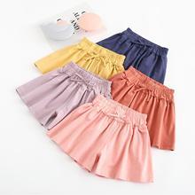 Summer New Girl's Trousers Skirt Cotton Shorts Children's Clothing Shorts Beach Summer Shorts Skirt