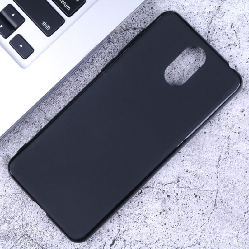 3 2019 5053 Case Silicon Cover Soft TPU Matte Black Phone Protector Shell For <font><b>Alcatel</b></font> 3L 2019 <font><b>5039D</b></font> Hole Back Capa Coque image