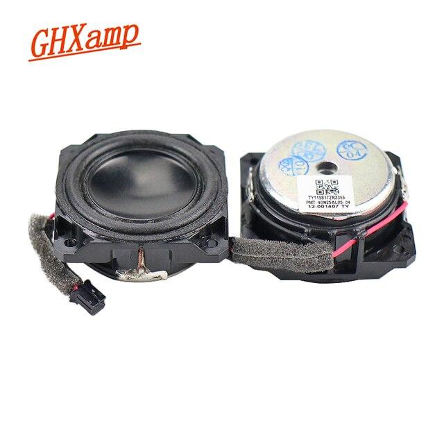 GHXAMP 1,5 zoll 4 OHM 5W Vollständige Palette Mini Lautsprecher Eloxiert Neodym Bluetooth Lautsprecher Menschlichen Stimme Warme Natürliche DIY 1Pairs