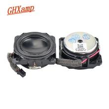 GHXAMP minialtavoz de gama completa, 1,5 pulgadas, 4 OHM, 5W, anodizado, neodimio, Bluetooth, voz humana, cálido, Natural, bricolaje, 1 par