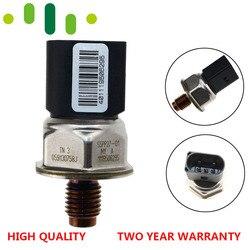 Oryginalny czujnik ciśnienia szyny paliwowej przełącznik dla volkswagena Audi A4 Q7 3.0 TDI OE #059 130 758 J 55PP27 01|Dopływ i oczyszczanie paliwa|Samochody i motocykle -
