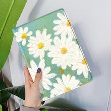 Чехол с цветочным рисунком для ipad pro 11 2020 102 105 air