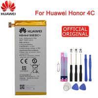 Hua Wei Original Ersatz Telefon Batterie HB444199EBC + Für Huawei Ehre 4C C8818 CHM-CL00 CHM-TL00H/G Spielen mini 2550mAh