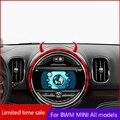 Niedlich teufel hörner Auto air outlet richtung dashboard 3D ornamente Für BMW MINI ONE COOPER S F54 F55 F56 F60 r54 R55 R56 R60 R61