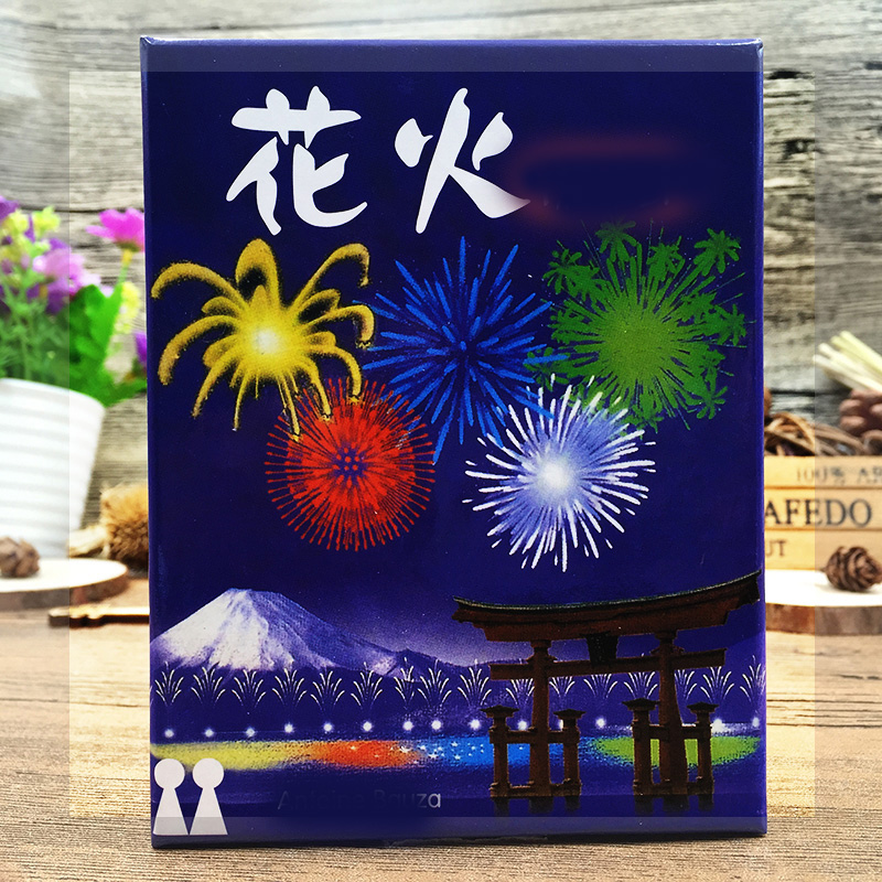 2-5 Players HANABI Board Game Cards Games Easy To Play Funny Game For Party/Family