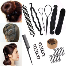Multic Style DIY Hair Styling Tools Donut Hairs
