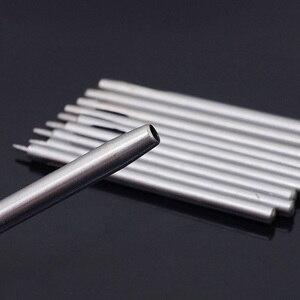 Image 4 - 10 Chiếc Vòng Rỗng Bấm Lỗ Cắt Leatherworking Độ Bám Thép Dụng Cụ DIY Cắt Cho Dây Ban Nhạc Đệm Puncher, 0.5 5 Mm