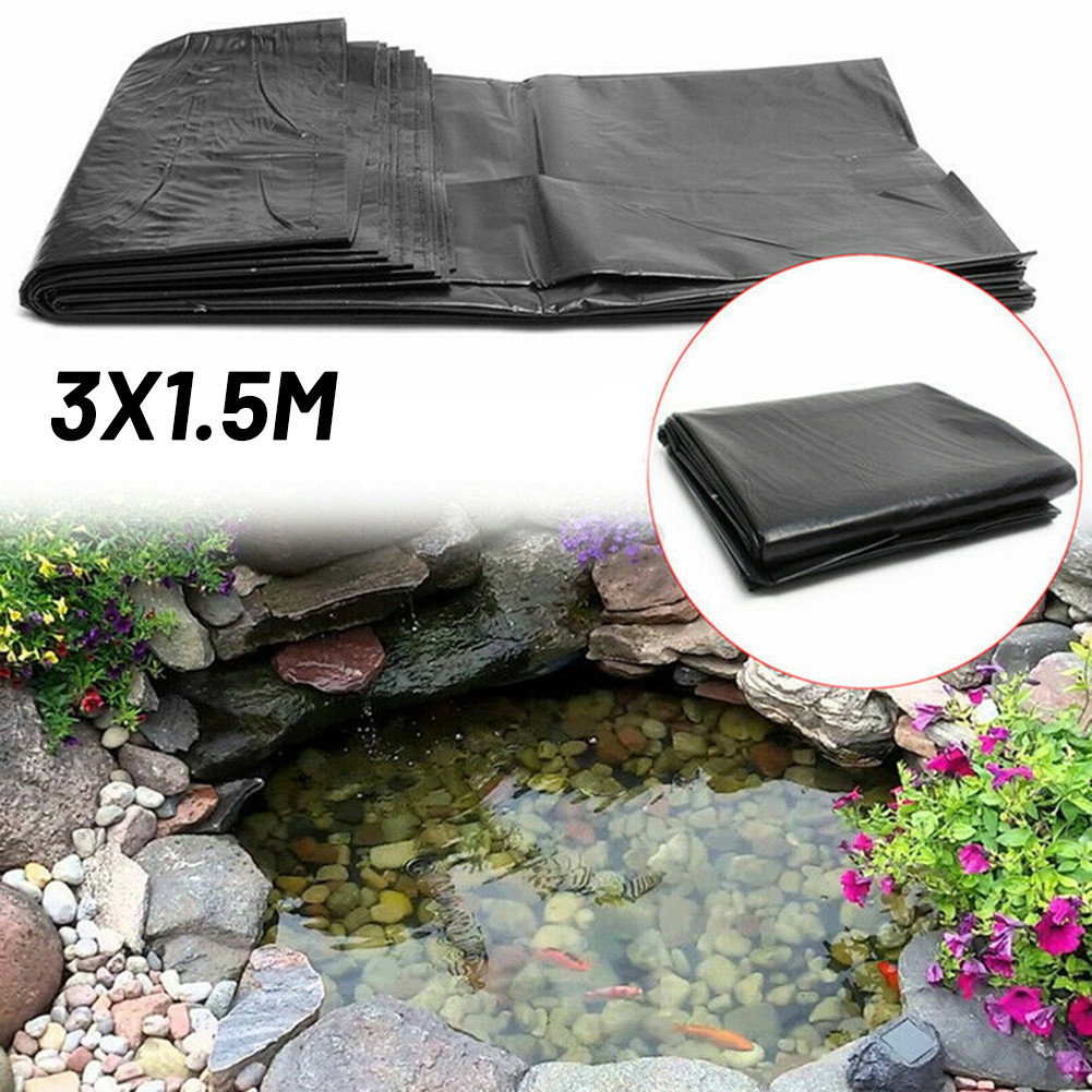 Props Liner Reinforced Washing Pools Accessory Black Gardens Landscaping