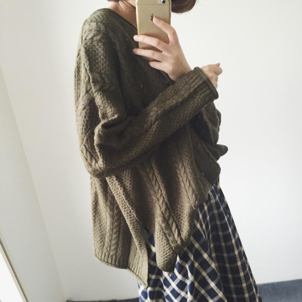 Новинка осенне зимний вязаный свитер женские повседневные пуловеры