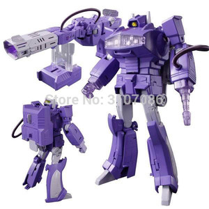 Image 1 - G1 Shockwave MasterPiece With Light Transformation MP 29 KO Collection Action Figure Robot Toys