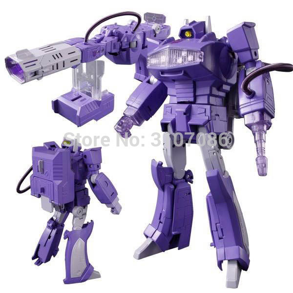 G1 Shockwave MasterPiece With Light Transformation MP 29 KO Collection Action Figure Robot Toys